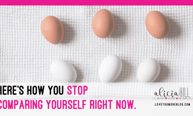 Here's How to Stop Comparing Yourself Right Now!
