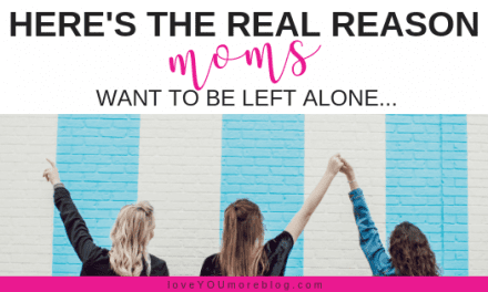 Here's the Real Reason Why Moms Need Time for Themselves