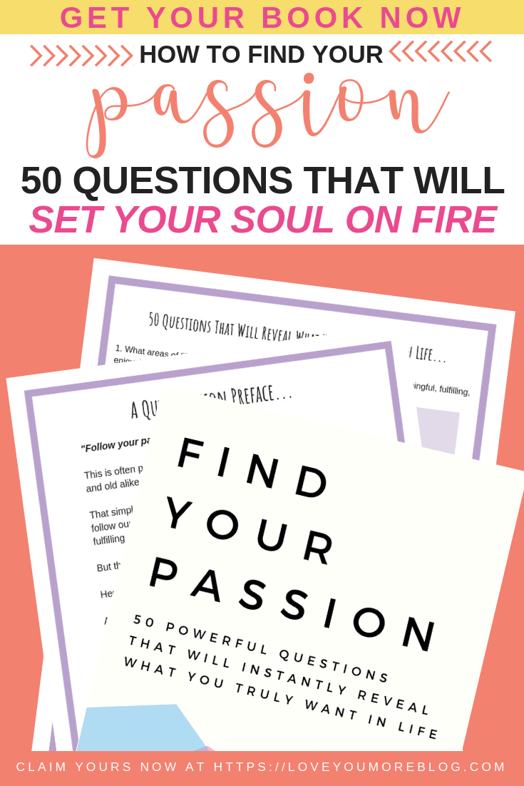 Find Your Passion Pin