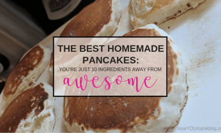 The Best Homemade Pancakes: You're 10 Ingredients Away from Awesome