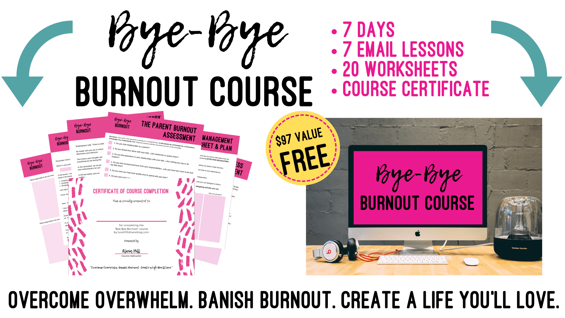 Bye-Bye Burnout Course