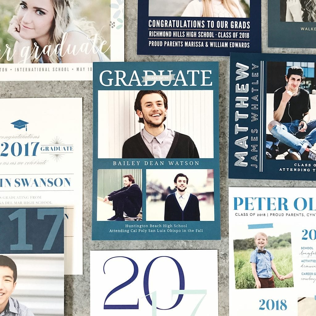basic invite graduation invitation