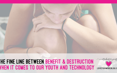 The Fine Line Between Benefit and Destruction When it Comes to Our Youth and Technology